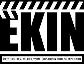 Erreserbak web orrian EKIN ikus entzunezko proiektu heziketaren Logotipoa